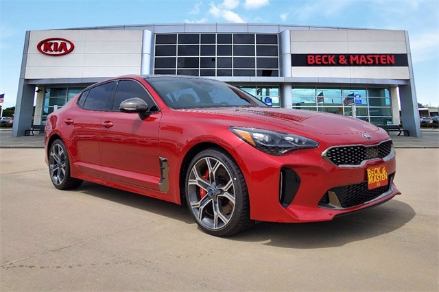 new 2020 kia stinger gt2 rwd 4d sedan